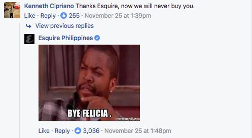 Esquire Philippines 2 - 20 Sassy Philippine Brands You Should Be Following On Social Media