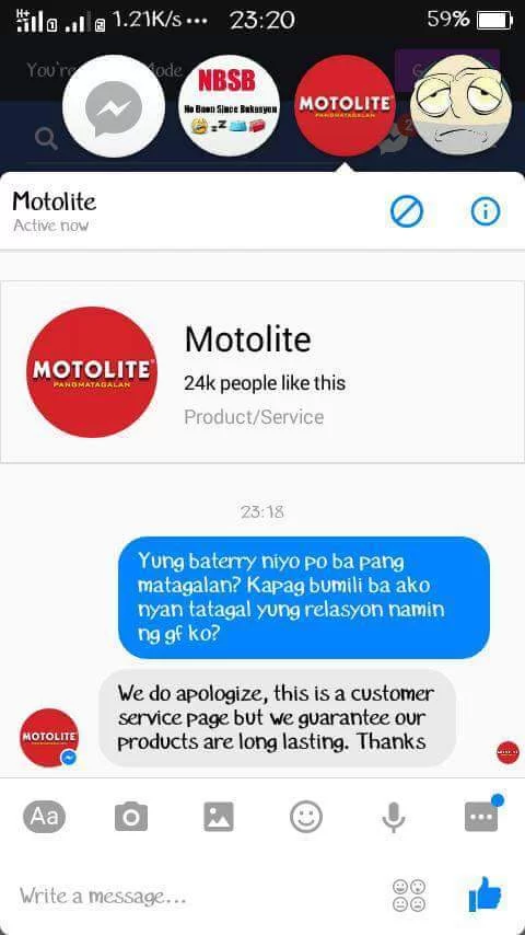 Motolite - 20 Sassy Philippine Brands You Should Be Following On Social Media