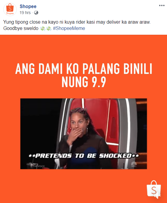 Shopee - 20 Sassy Philippine Brands You Should Be Following On Social Media